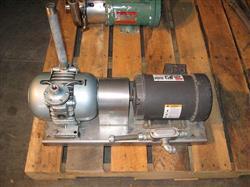 Image 1 HP GAST Model 2065-U2A Vacuum Pump 337231