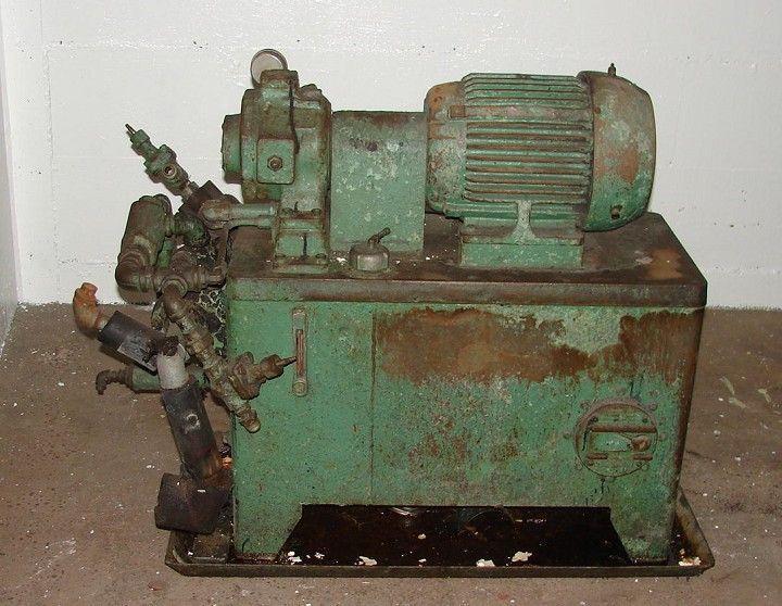 RACINE 10 hp Hydraulic Power Unit
