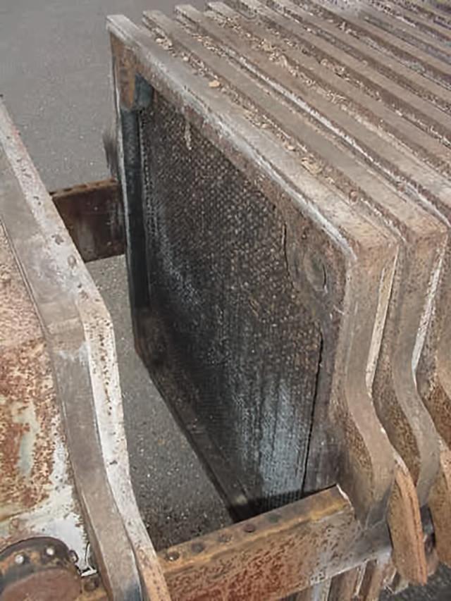 "Image Carbon Steel Filter Press 26"" x 26"" 337329"