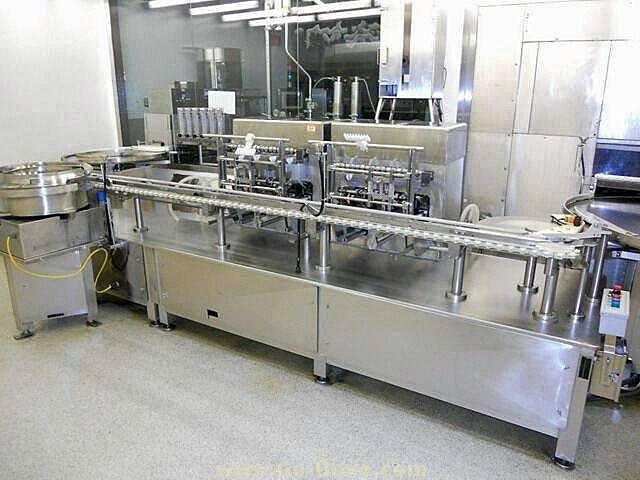 TL SYSTEMS FSM-2702 Vial Filler