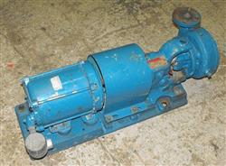 Image 1HP GOULD Stainless Pump w/XP Motor, 1 x 1.5 337673