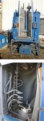 123204 - PRESSURE BLAST MFG INC. Air Blast Cleaning System with Dust Collector