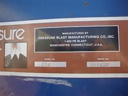 Image PRESSURE BLAST MFG INC. Air Blast Cleaning System with Dust Collector 337738