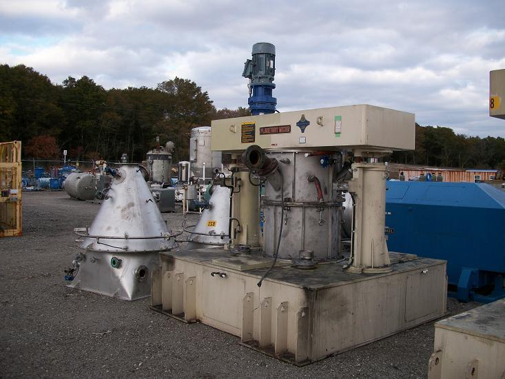 100 Gallons ASADA IRON WORKS PV-400 Planetary Mixer
