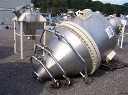 Image 750 Gallon BENDEL 304 Stainless Steel Cone Bottom Tank/Hopper 337963