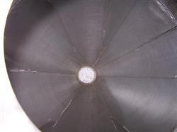 Image 750 Gallon BENDEL 304 Stainless Steel Cone Bottom Tank/Hopper 337964