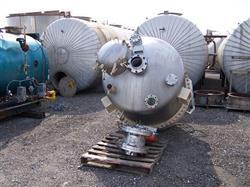 Image 750 Gallon BENDEL 304 Stainless Steel Cone Bottom Tank/Hopper 337965