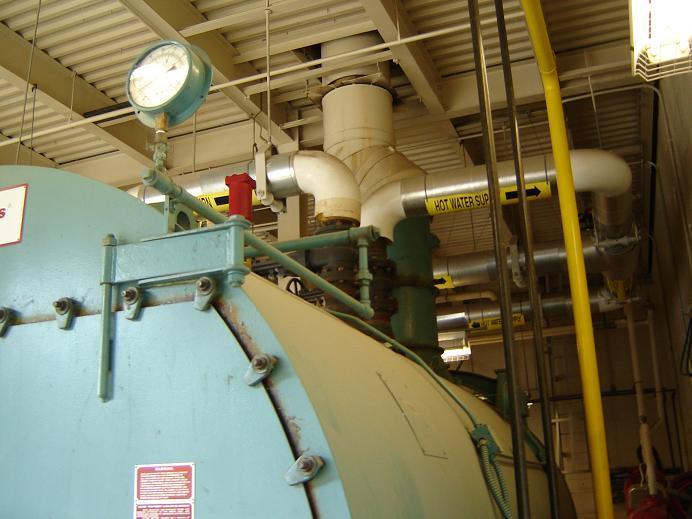Image 250HP CLEAVER BROOKS CB/200250125 Packaged Firetube Hot Water Boiler 338033
