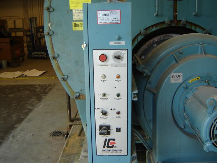 Image 250HP CLEAVER BROOKS CB/200250125 Packaged Firetube Hot Water Boiler 338034