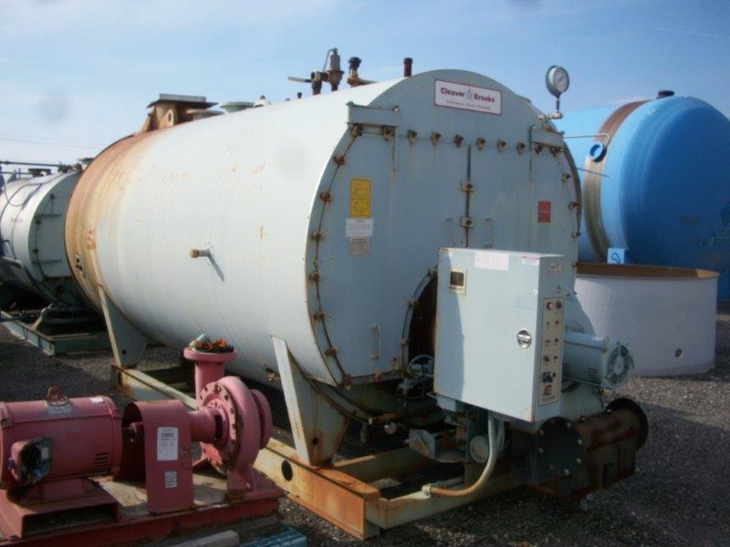Image 250HP CLEAVER BROOKS CB/200250125 Packaged Firetube Hot Water Boiler 633977