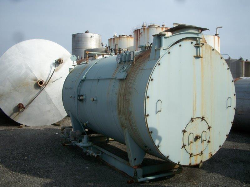Image 250HP CLEAVER BROOKS CB/200250125 Packaged Firetube Hot Water Boiler 633979