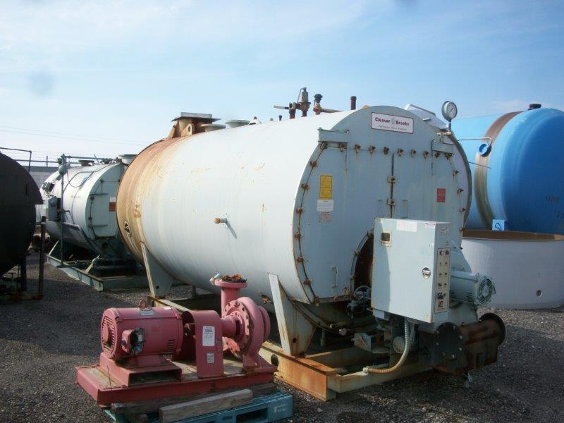 Image 250HP CLEAVER BROOKS CB/200250125 Packaged Firetube Hot Water Boiler 633980