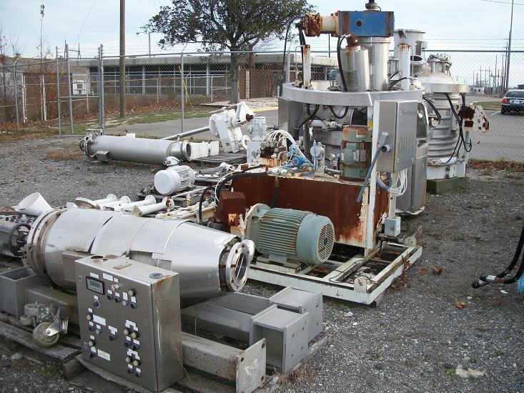 410 Gallon COGEIM EV1500 Hastelloy C-22 Pan Dryer