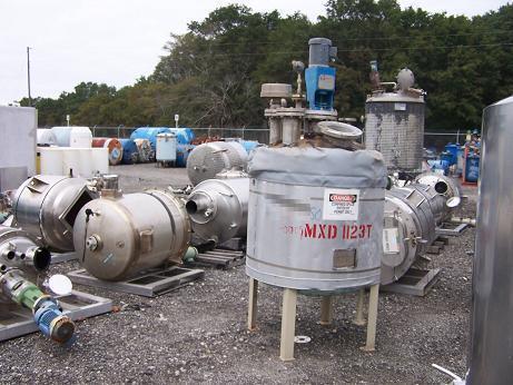 175 Gallon EXPERT INDUSTRIES Stainless Steel Tank