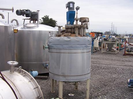 Image 175 Gallon EXPERT INDUSTRIES Stainless Steel Tank 338174