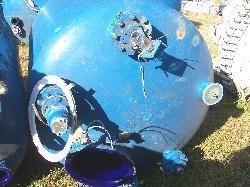 Image 500 Gallon GLASCOTE Glass Lined Storage Tank 338226