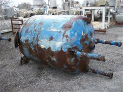 Image 500 Gallon GLASCOTE Glass Lined Storage Tank 633484