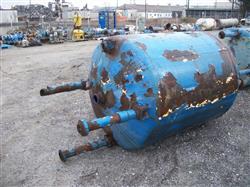 Image 500 Gallon GLASCOTE Glass Lined Storage Tank 633485