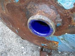 Image 500 Gallon GLASCOTE Glass Lined Storage Tank 633486