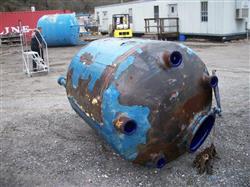 Image 500 Gallon GLASCOTE Glass Lined Storage Tank 633487