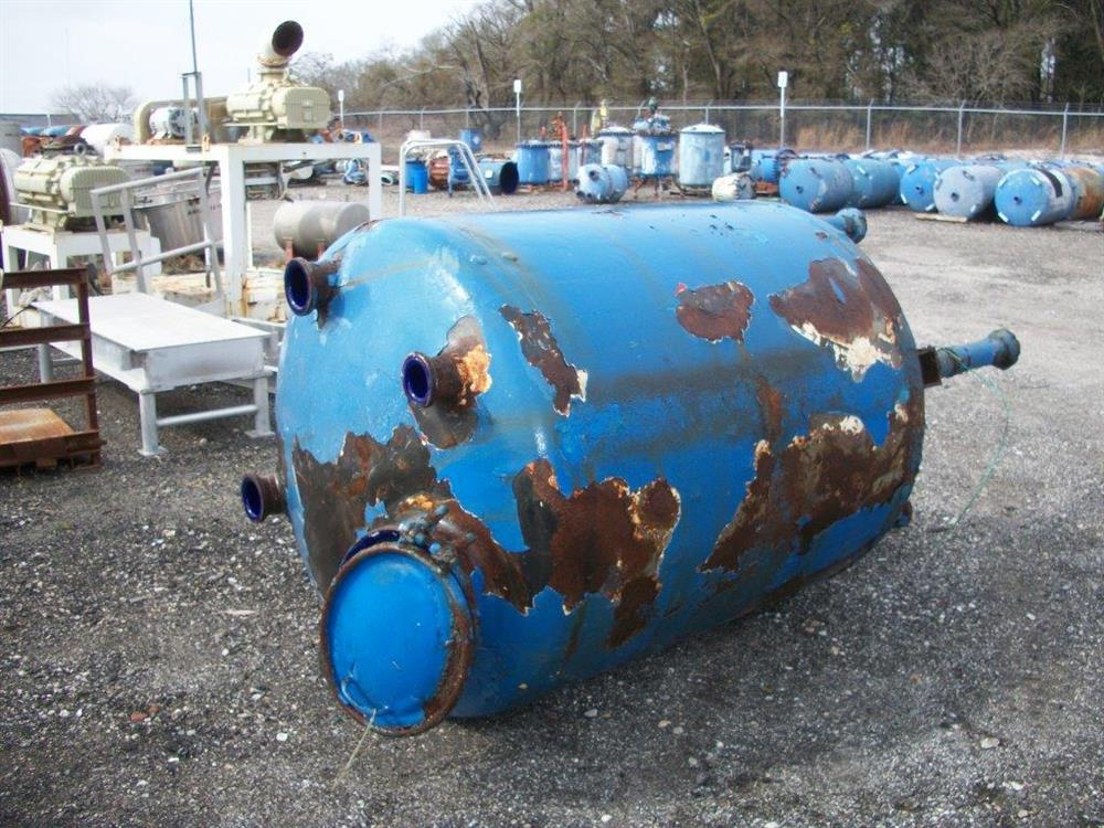 Image 500 Gallon GLASCOTE Glass Lined Storage Tank 633474