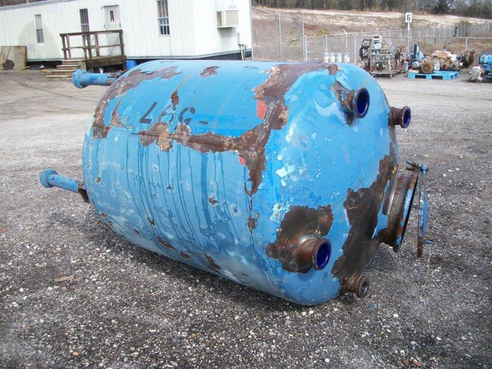 Image 500 Gallon GLASCOTE Glass Lined Storage Tank 633475