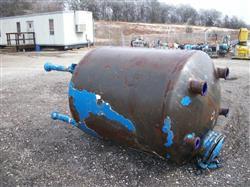 Image 500 Gallon GLASCOTE Glass Lined Storage Tank 633437