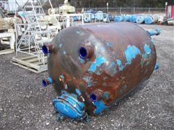 Image 500 Gallon GLASCOTE Glass Lined Storage Tank 633438