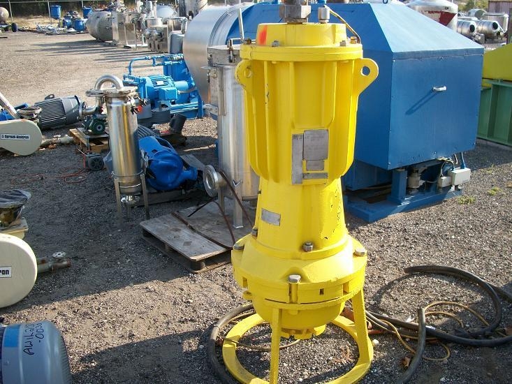 40 HP HAZLETON Submersible Slurry Pump