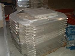 Image 8.7 cf HOESCH Polypropylene Recessed Plate Filter Press 338297