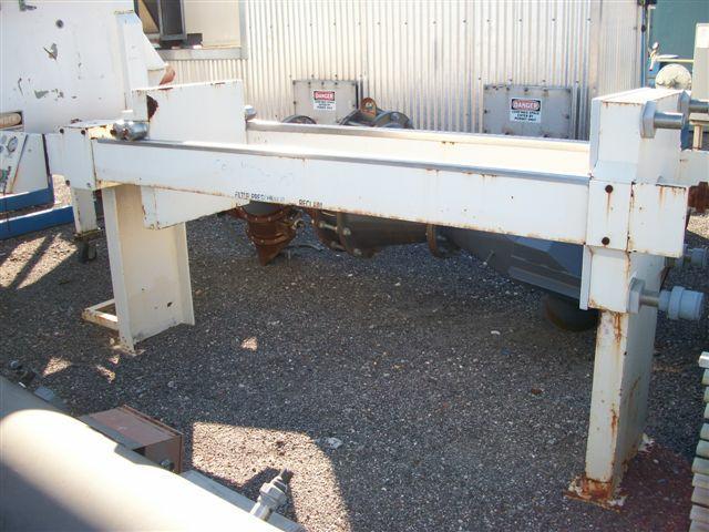 Image 8.7 cf HOESCH Polypropylene Recessed Plate Filter Press 338299