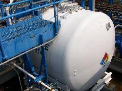 Image 4000 Gallon PFAUDLER Horizontal Glass Lined Chemstor Tank 339076
