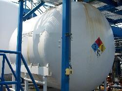 Image 4000 Gallon PFAUDLER Horizontal Glass Lined Chemstor Tank 339077