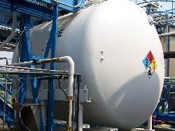 Image 4000 Gallon PFAUDLER Horizontal Glass Lined Chemstor Tank 339078