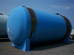Image 24000 Gallon PFAUDLER C11 Horizontal Glass Lined Chemstor Tank 339088