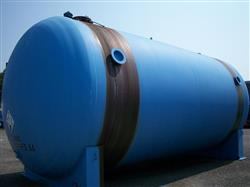 Image 24000 Gallon PFAUDLER C11 Horizontal Glass Lined Chemstor Tank 339089