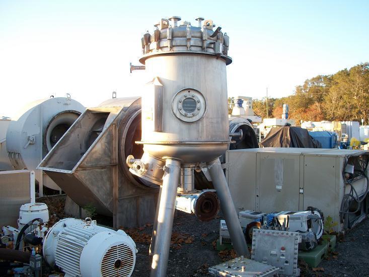 Image 10 Sq. Meter SCHENCK Centrifugal Discharge Filter 339214