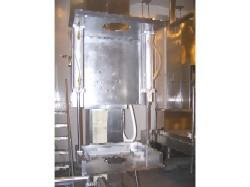 2.5-15 cf TOTE BIN SYSTEMS Vertical 316SS Bin Blender