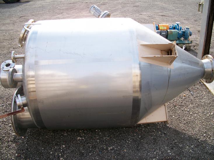 Image 54 cf 304 Stainless Steel Cone Bottom Tank/Hopper 339464