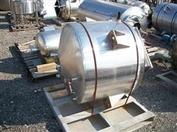 123945 - 150 Gallon 316 Stainless Steel Cold Wall Jacketed Tank