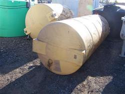 123989 - 1000 Gallon Horizontal Poly Tank