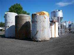 Image 3000 Gallon Vertical Foam Covered Poly Tank 339586