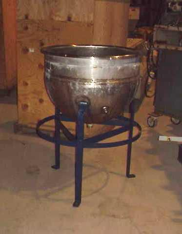 50 Gallon HAMILTON Stainless Jacketed Kettle