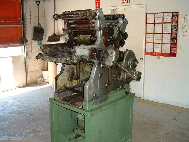 OMSO 3-Color Offset Printing Press