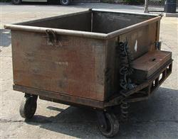 124289 - 40 cf Dough Trough with Hydraulic Lift & Gate