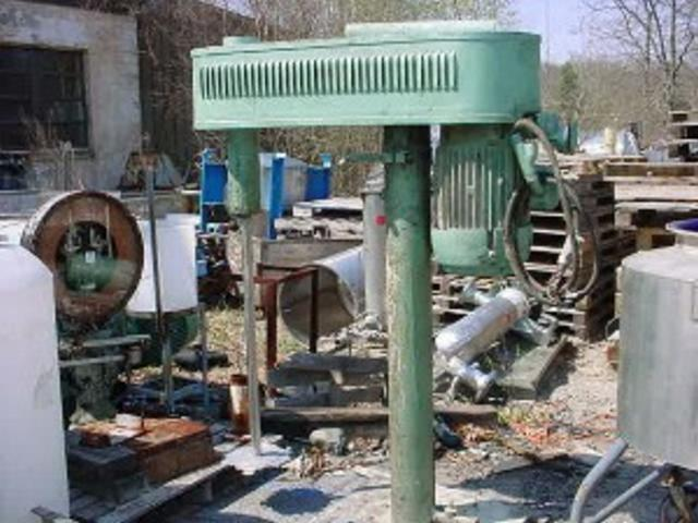 15 HP HOCKMEYER Variable Speed Disperser