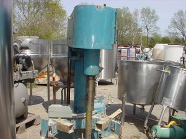 Image 15 HP SCHOLD Variable Slow Speed Disperser 339939