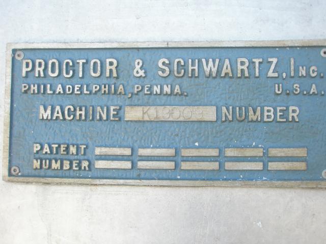 """Image PROCTOR SCHWARTZ S/S Tray Dryer, 30"""" X 44"""" X 40"""" 340007"""