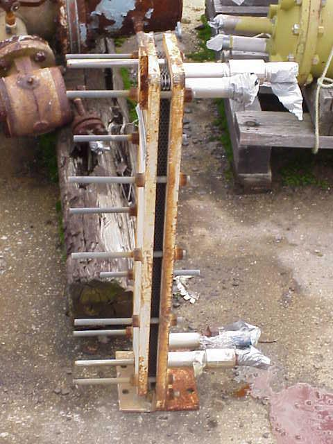 Image 6 sf GRAHAM UFX-06 Stainless Plate Exchanger 340731