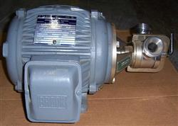 125771 - 2 HP JABSCO Pump w/ BROOK Electric Tenv Motor